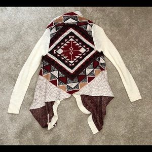 Charlotte Russe Aztec Patterned Sweater